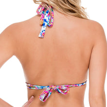 BEAUTIFUL MESS - Triangle Halter Top