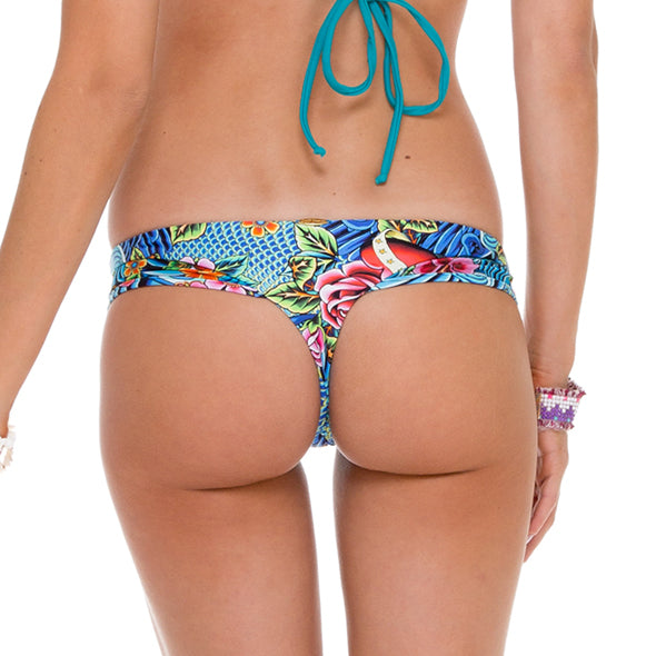 INKED BABE - Buns Out Ink Mesh Reversible Bottom