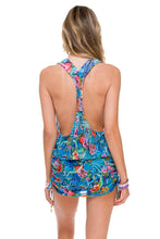 INKED BABE - T Back Mini Dress • Multicolor