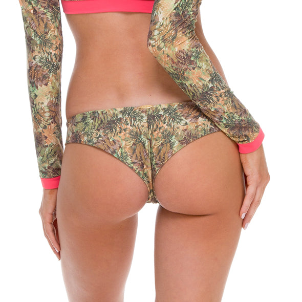 WORLD ON FIRE - Lo Rise Hipster Bottom