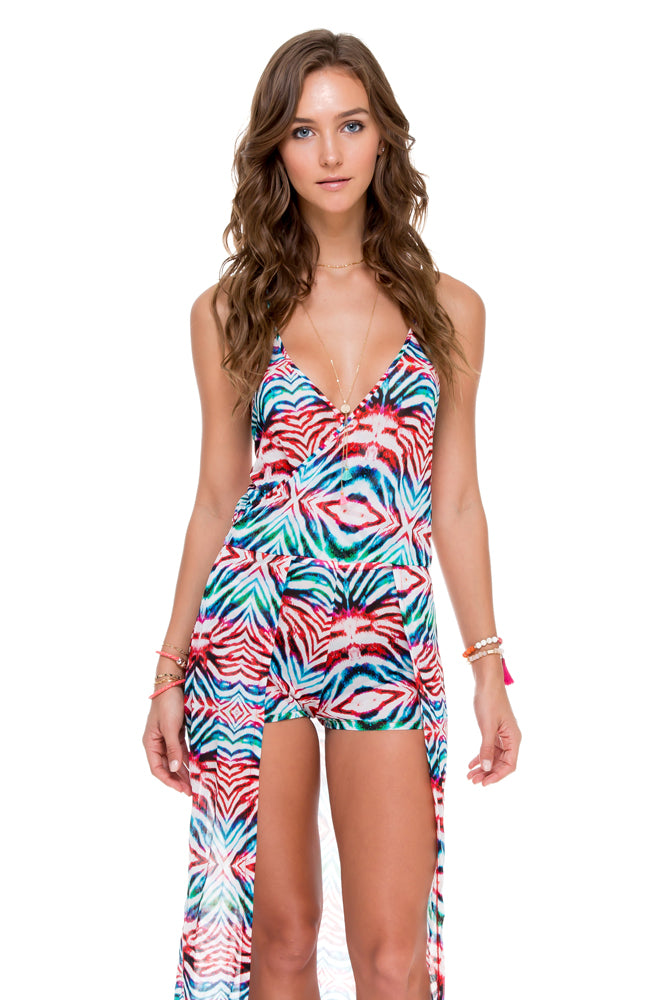 LIKE A FLAME - Wandress Romper • Multicolor (874455105580)