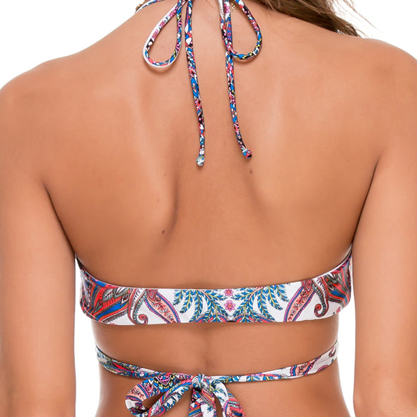 REBELDIA - Cross Over Halter Top