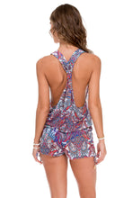 REBELDIA - T Back Romper • Multicolor