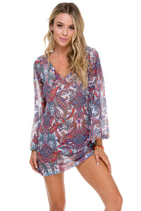 REBELDIA - Boheme Tunic • Multicolor