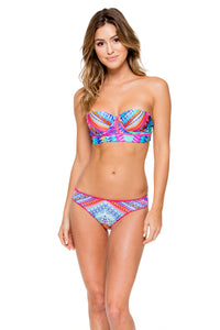 STAR GIRL - Stitched Corset Top & Full Bottom • Multicolor