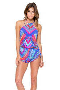 STAR GIRL - Backless Romper • Multicolor