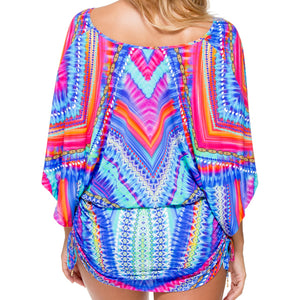 STAR GIRL - Cabana V Neck Dress