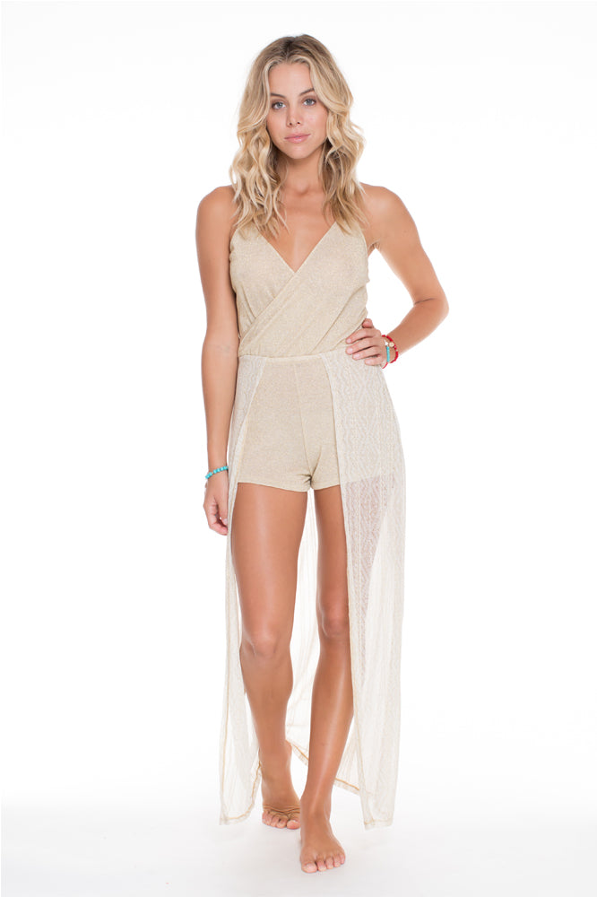 GOLDEN SUGAR - Wandress Romper • Gold Rush