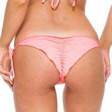 TAKE ME TO PARADISE - Wavey Ruched Back Brazilian Tie Side Bottom