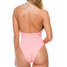 TAKE ME TO PARADISE - Plunge Cheeky One Piece