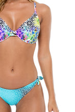 GUAJIRA SUPERSTAR - Underwire Adjustable Top & Cayo Hueso Moderate Bottom • Multicolor (874557669420)