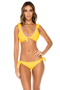 GUAJIRA SUPERSTAR - Floridita Top & Cayo Coco Brazilian Bottom • Limon (1176187895852)