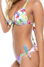 GUAJIRA SUPERSTAR - Lola Halter Top & Cayo Hueso Moderate Bottom • Multicolor