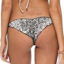 BOMBO - Wavey Ruched Back Brazilian Tie Side Bottom