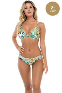 GUANTANAMERA - Underwire Adjustable Top & Bahia Banded Seamless Full Bottom • Multicolor (874559012908)