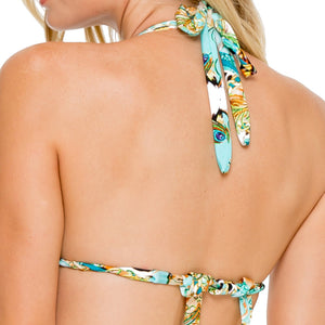 GUANTANAMERA - Triangle Halter Top