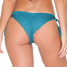 HAVANA NIGHTS - Wavey Ruched Back Brazilian Tie Side Bottom