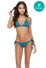 HAVANA NIGHTS - Triangle Top & Wavey Ruched Back Brazilian Tie Side Bottom • Miramar