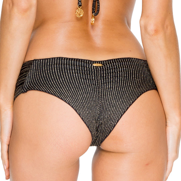 HAVANA NIGHTS - Scrunch Ruched Back Brazilian Bottom