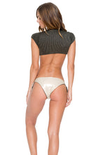 HAVANA NIGHTS - Señorita Crop Top & Cayo Hueso Moderate Bottom • Black