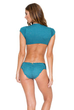 HAVANA NIGHTS - Señorita Crop Top & Scrunch Full Ruched Back Bottom • Miramar