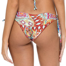 YEMAYA - Wavey Ruched Back Brazilian Tie Side Bottom