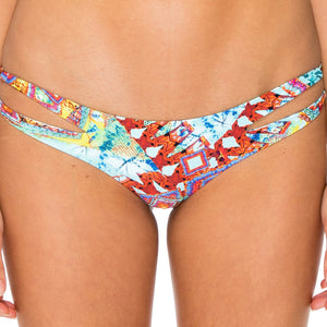 YEMAYA - Reversible Zig Zag Open Side Moderate Bottom
