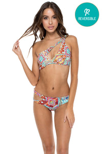 YEMAYA - Alicia Bandeau Top & Sazon Bottom • Multicolor
