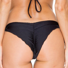 EL CARNAVAL - Wavey Ruched Back Brazilian Tie Side Bottom