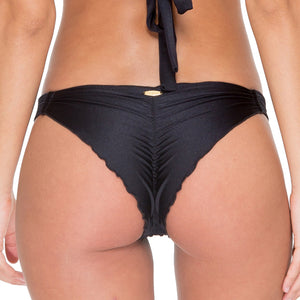 EL CARNAVAL - Strappy Brazilian Ruched Back Bottom