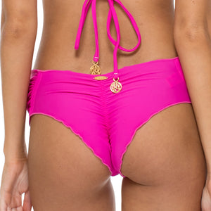 EL CARNAVAL - Scrunch Ruched Back Brazilian Bottom