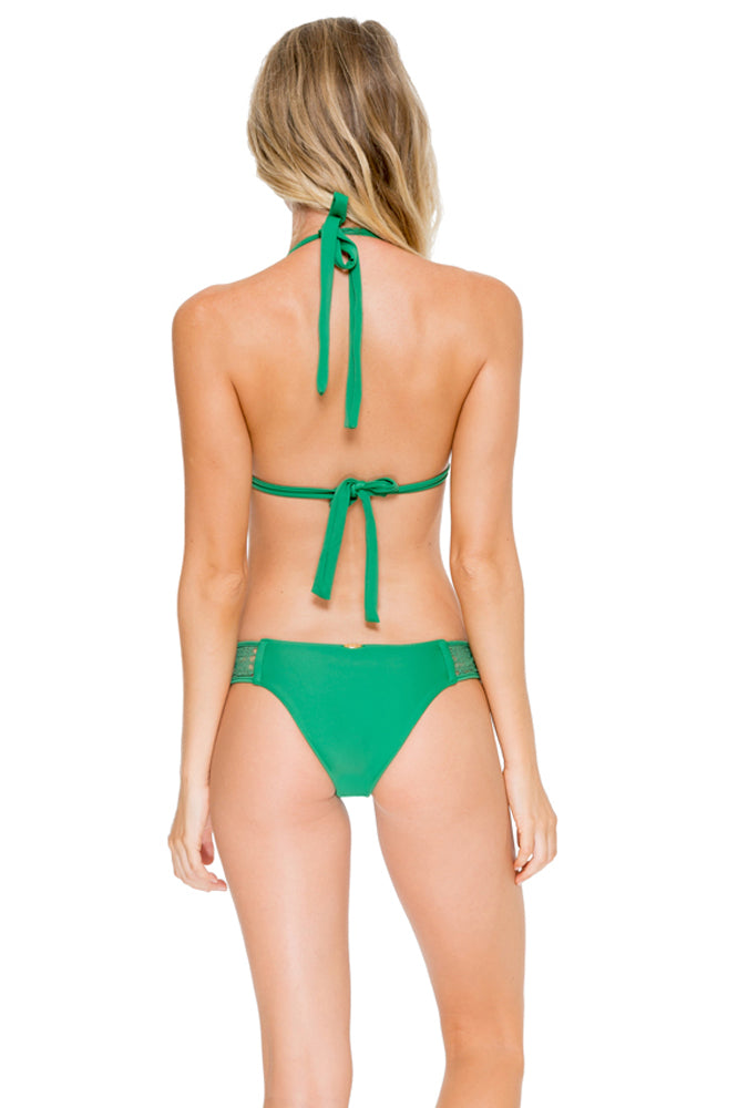 EL CARNAVAL - Triangle Halter Top & Moderate Bottom • Palma