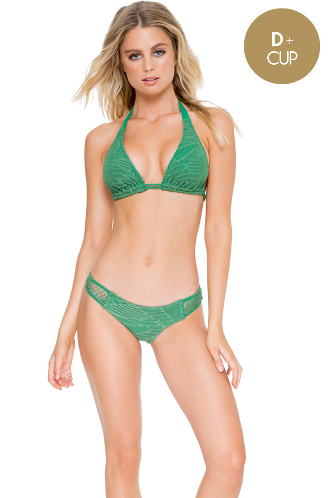 EL CARNAVAL - Triangle Halter Top & Moderate Bottom • Palma (874549313580)