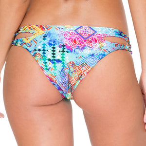 CAYO HUESO SO CLOSE - Reversible Zig Zag Open Side Moderate Bottom
