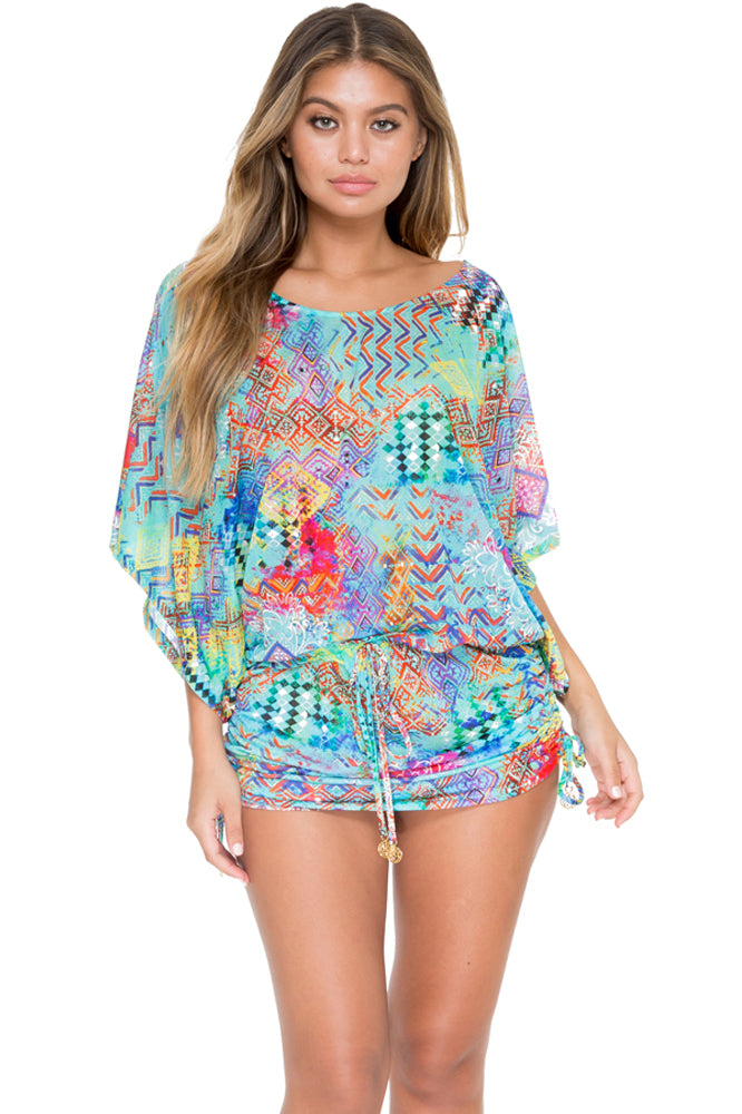 CAYO HUESO SO CLOSE - South Beach Dress • Multicolor