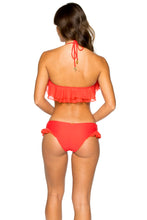 VIVA CUBA - Ruffle Underwire Halter Top & Morena Moderate Bottom • Girl On Fire