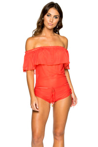 VIVA CUBA - Drifter Romper • Girl On Fire