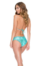 VIVA CUBA - Wavey Triangle Top & Full Ruched Back Bottom • Multicolor