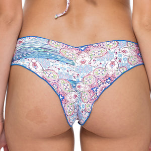 AZUCAR - Wavey Ruched Back Brazilian Bottom