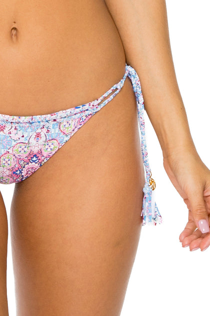 AZUCAR - Magda Halter Top & Reversible Brazilian Tie Side Bottom • Multicolor