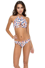 CIENFUEGOS - Isabel Halter Top & Reversible Brazilian Bottom • Multicolor