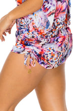 CIENFUEGOS - Cabana V Neck Dress • Multicolor