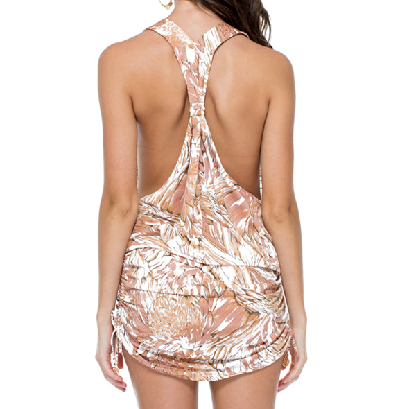 AMOR TABACO Y RON - T Back Mini Dress