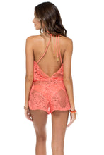 GUAGUANCO - Backless Romper • Mamey