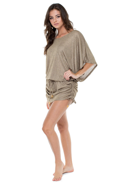 COMPAI - South Beach Dress • Bronze