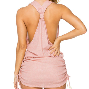 SABOR - T Back Mini Dress