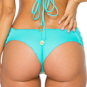 LA GLORIA CUBANA - Scrunch Ruched Back Brazilian Bottom