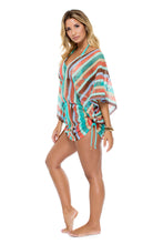 LA GLORIA CUBANA - Cabana V Neck Dress • Multicolor