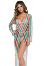 LA GLORIA CUBANA - Gloria Cubana Maxi Dress • Multicolor
