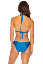 MAMBO - Triangle Halter Top & Full Bottom • Cove Blue